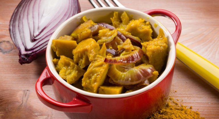 curry seitan