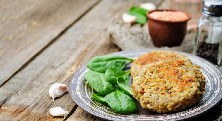 hamburger lenticchie o altro legume